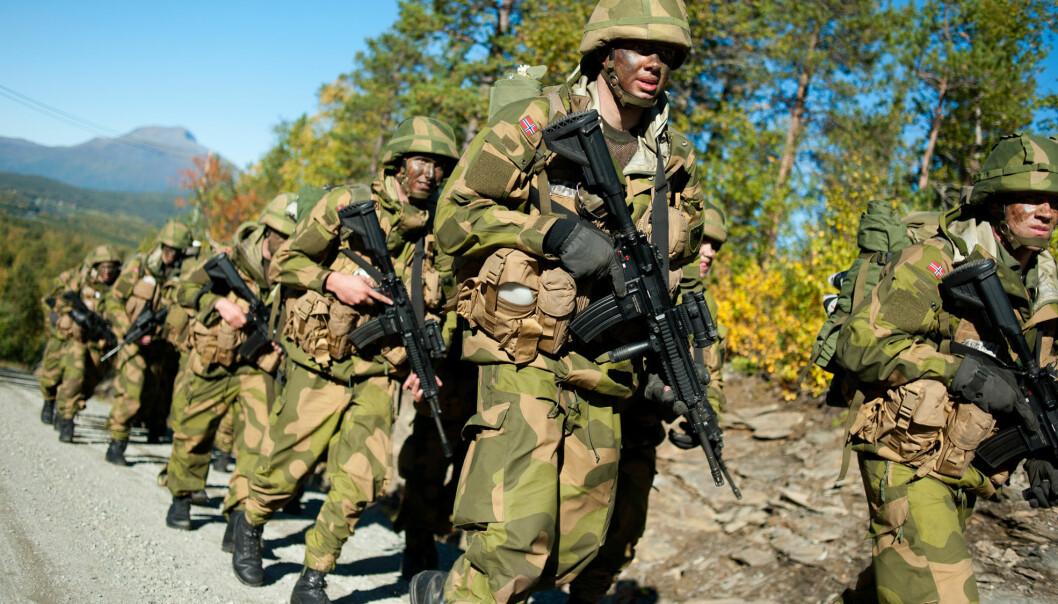 VERNEPLIKTSUNDERSØKELSEN: Den årlige undersøkelsen har til hensikt å måle soldaters trivsel i tjenesten, arbeidsmiljø og sikkerhet.