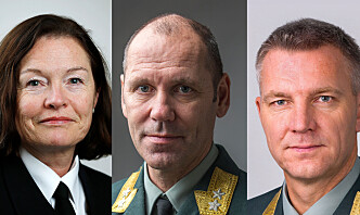 Disse ønsker å bli ny sjef for Forsvarsstaben