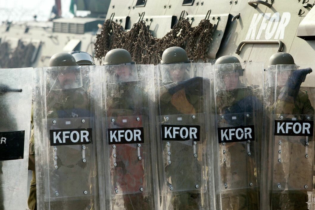 På mange måter markerer Kosovo et skille mellom mobiliseringsforsvaret og det moderne innsatsforsvaret, sier Robert Mood.