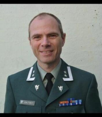Oberstløytnant Egil Daltveit