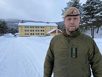 Oberstløytnant Erling Nervik er kommunikasjonssjef i Hæren.