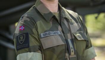 Tidligere sjef for Telemark Bataljon,Terje Bruøygard, er for tiden instruktør ved Marine Corps University i USA (Foto: Anette Ask/Forsvaret).