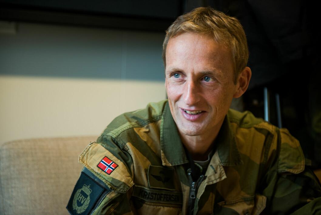 Generalmajor Eirik Kristoffersen blir ny hærsjef 1. september 2019. Foto: Ylva Seiff Berge.
