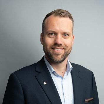 Nestleder i Norges offisers- og spesialistforbund (NOF), Tor Egil Vangstad (Foto: NOF).