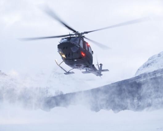 Bell på beredskap i Finnmark