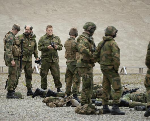 160 rekrutter rykker inn for trening på Porsangmoen