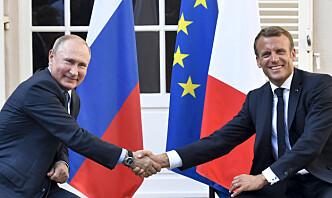 Macron og Putin øyner en løsning på Ukraina-konflikten