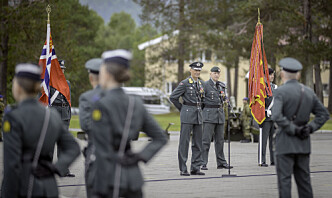 Eirik Kristoffersen tok over som sjef for Hæren
