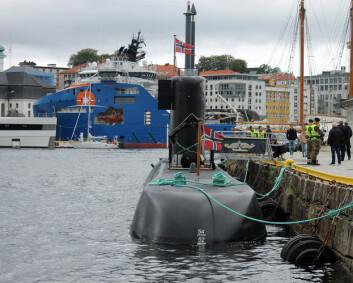 Ubåtsjef: Folk må få se hva vi bruker så mye penger på