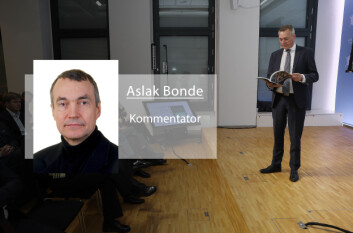 Aslak Bonde,&nbsp;<SPAN style=&#34;COLOR: &#34;>kommentator</SPAN>