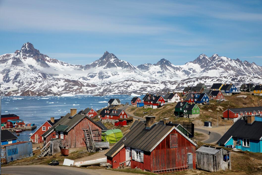 Grønlands strategiske posisjon er grunnen til Trumps interesse for øya. (Foto NTB/Scanpix)