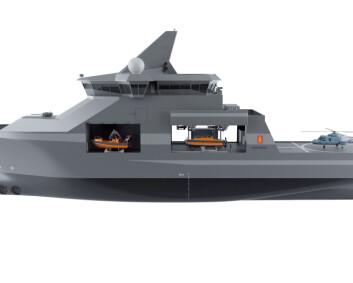 Nytt multirollefartøy kan styrke Sjøforsvaret