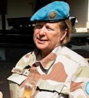 Kristin Lund, generalmajor (pensjonert), tidl. sjef for UNTSO