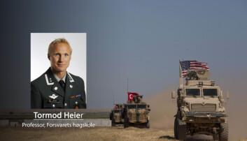 USAs tilbaketrekning fra Syria: Et urovekkende signal