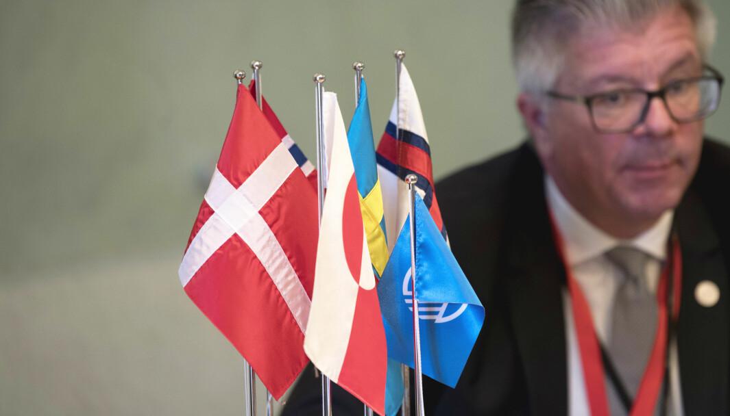 Hans Wallmark president i det Nordiske Rådet.