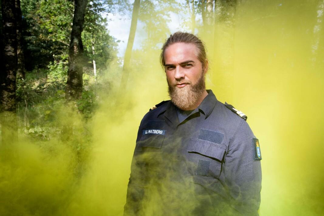 SLUTTER: Lasse Matberg slutter i Forsvaret. Han har gått i uniform siden 2007.