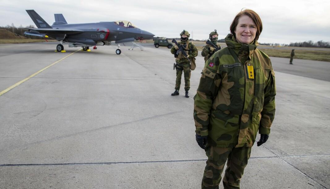 SUNT: Et stadig sterkere kritisk blikk utenfra på Forsvarets sikkerhetskultur er sunt, skriver sjef Luftforsvaret Tonje Skinnarland.