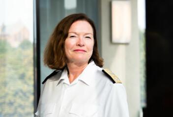 Møte: Sjef Forsvasstaben Elisabeth Natvig forteller at de skal møte arbeidstakerorganisasjonene.