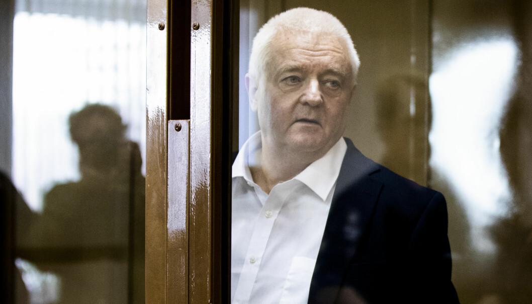 RAPPORT: Frode Berg ble arrestert i Moskva for spionasje i desember 2017. Nå krever Stortinget at rapporten ikke blir hemmeligholdt