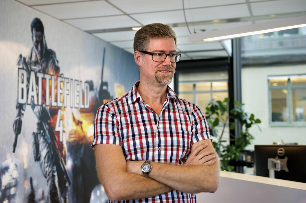 Lars Gustavsson ville føle seg som en krigshelt. Det han lagde, ble tidenes mest populære krigsspill.