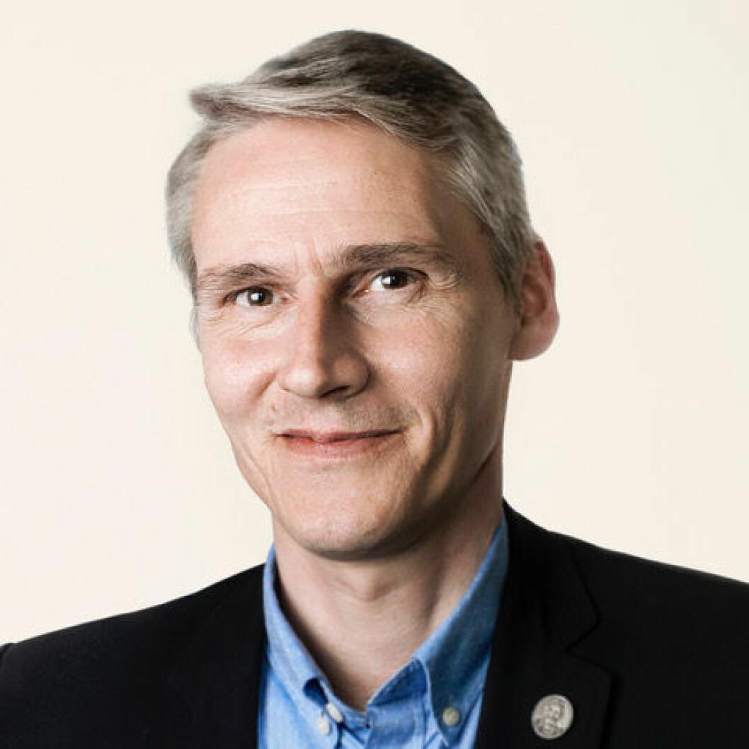 Høgni Hoydal har vært politisk aktiv på høyt nivå på Færøyene i en årrekke. Foto: Folketinget/Rebekka Rafael Clementsen