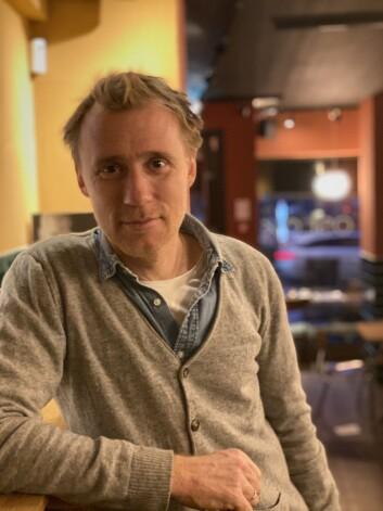 Thorbjørn Harr er spiller «Stein» i spenningsfilmen «Tunnelen» (Foto: Øyvind Førland Olsen/Forsvarets forum).