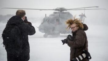 Regjeringen vil leie inn helikoptre til Forsvaret
