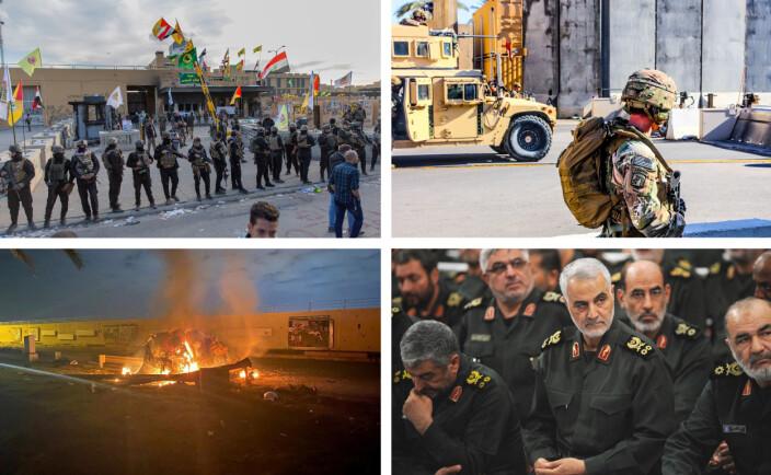 USA likviderer en iransk general - dette er bakteppet