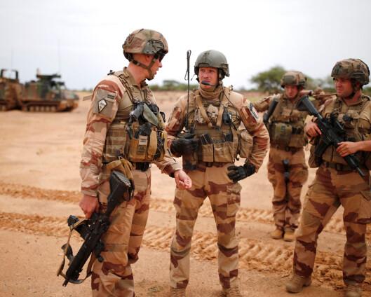 Frankrike begrenser militært samarbeid med Mali