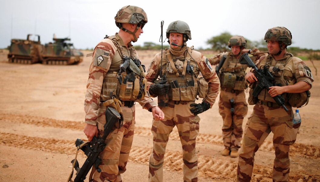 Franske soldater i operasjon Barkhane. Frankrike og FN lover at operasjonene i Mali fortsetter.