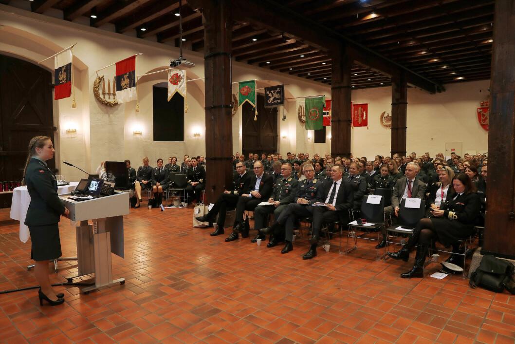 SEMINAR: I dag starter det årlige seminaret til Militært kvinnelig nettverk. I år blir seminaret avholdt i Istindportalen i Bardufoss.