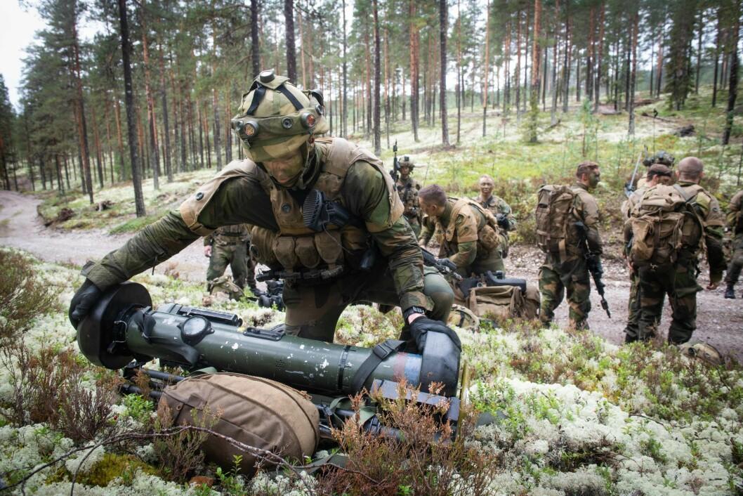 2. bataljon er en lett infanterinbataljon – enn så lenge. Foto: Ylva S. Berge/ Forsvarets forum