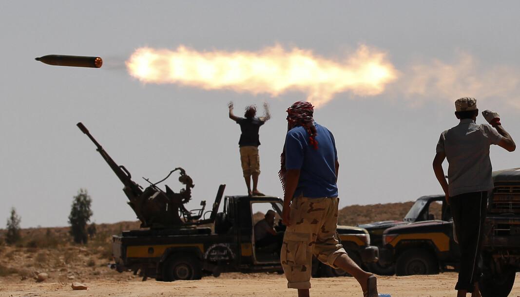 - Det er over 20.000 fremmedkrigere i Libya, ifølge FN.