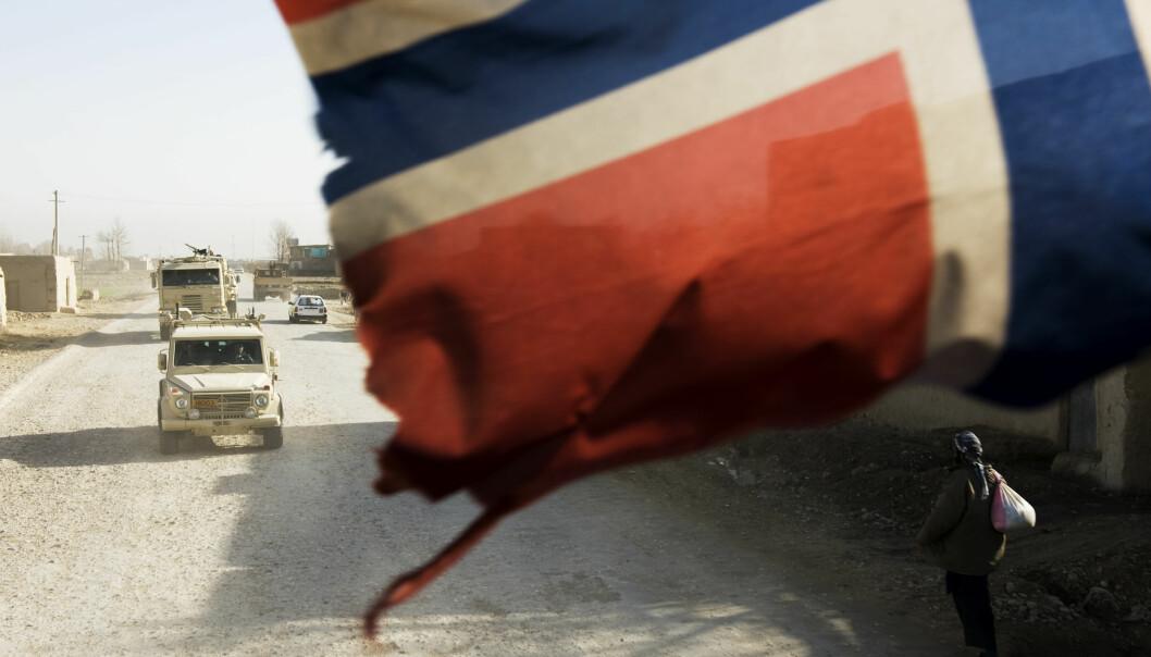 Tusenvis av norske soldater har blir sendt ut på vegne av Norge, men mange opplever at det begås urett mot dem når de vender hjem, skriver Bjørnar Moxnes i Rødt. Dette bildet er fra en tidligere reportasje i Afghanistan.