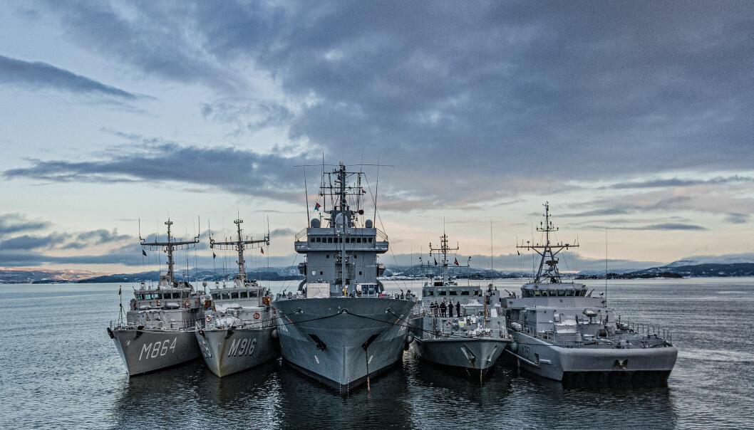 Belastningen i minevåpenet er stor, og de fleste må seile under Nato-flagget annethvert år, skriver løytnant Anders Helgesen.