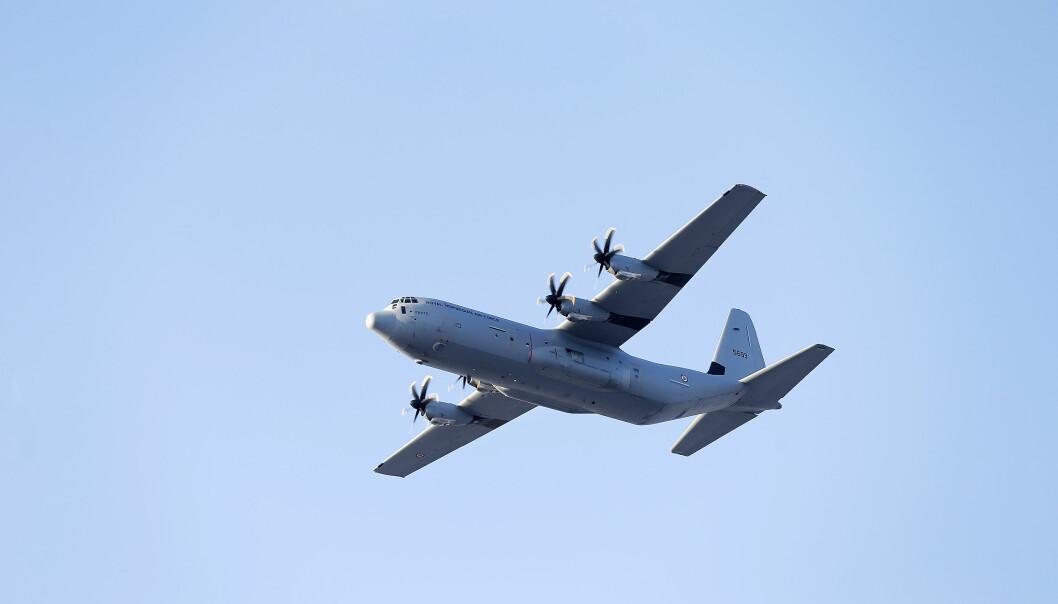 HERCULES: 11. mars 2020 inntraff en alvorlig hendelse som involverte to norske Hercules transportfly under øvelse Cold Response. Bildet er er ikke relatert til hendelsen.