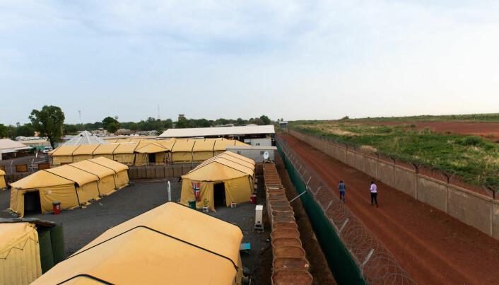 Den norske basen i Mali «Camp Bifrost».