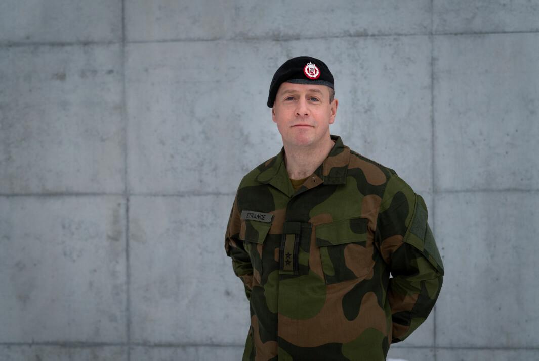 Oberstløytnant Per Espen Strande er sjef for Etterretningsbataljonen.