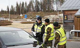Ventet grensekontroll-kostnad for Forsvaret i 2021: 274 millioner