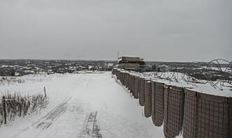 Ved fronten i Øst-Ukraina