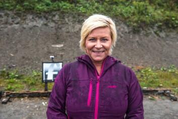 <STRONG>Siv Jensen (47)</STRONG><BR>Finansminister og leder for Fremskrittspartiet&nbsp;