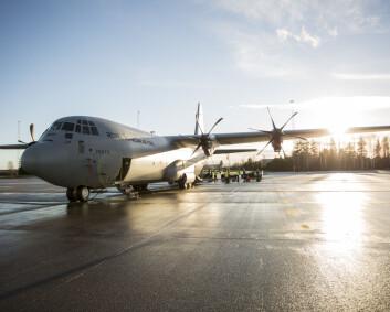 Hercules inntar småflyplassene
