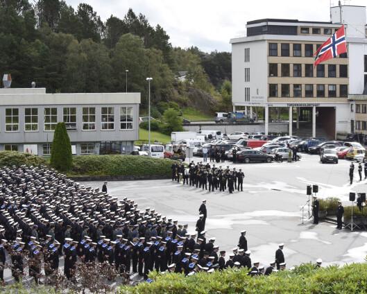 Haakonsvern rustes med 350 millioner