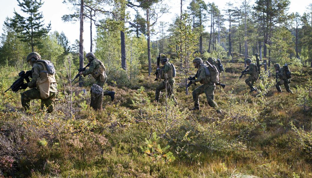 Bildet viser Innsatsstyrke Rype. Flere HV-øvelser er allerede avlyst denne høsten.