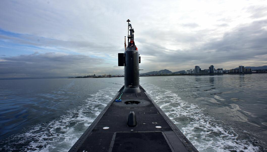Ula-klassen skal byttes ut på sikt, men utfasingen av to av ubåtene er satt på vent. Her er KNM Utstein på vei fra Skottland til Norge.