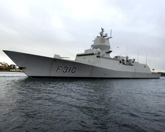 Norsk fregatt kan bli sendt til Midtøsten
