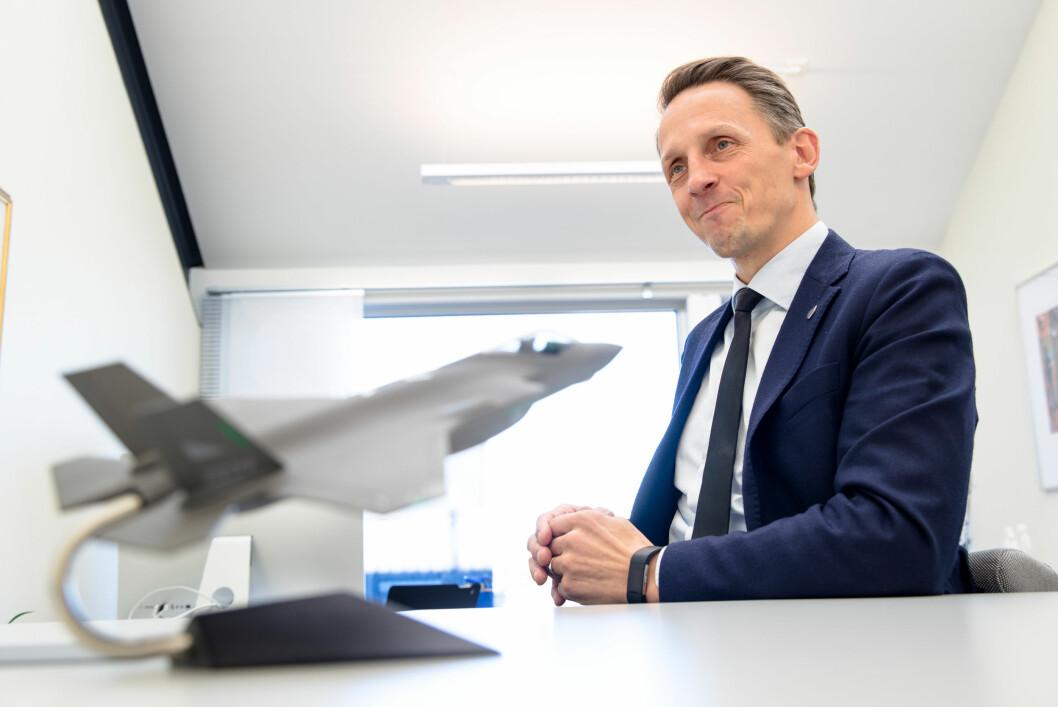 Tom Myrvold er ordfører i Ørland kommune.