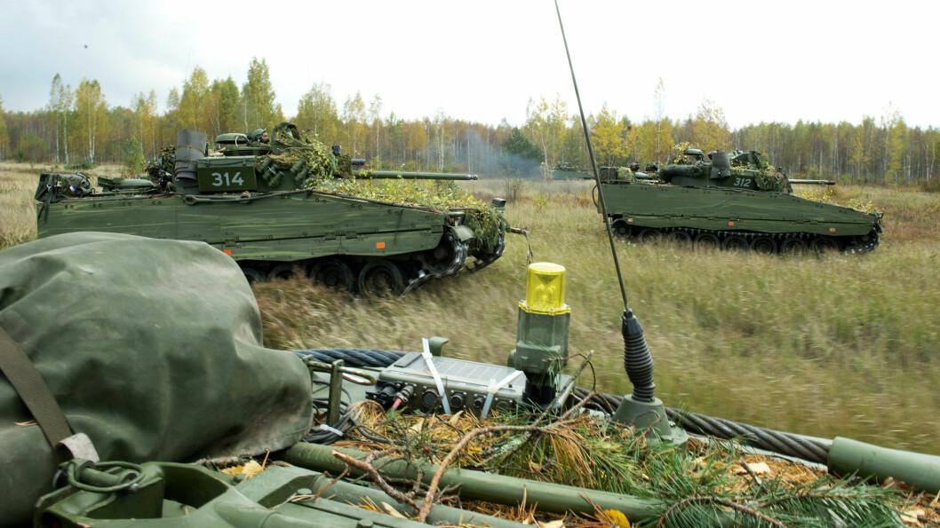 – Lån, leasing eller andre løsninger er flott så lenge det fører til moderne stridsvogner i Norge i forutsigbar fremtid, sier generalmajor Odin Johannessen. Illustrasjonsfoto: Olav Standal Tangen