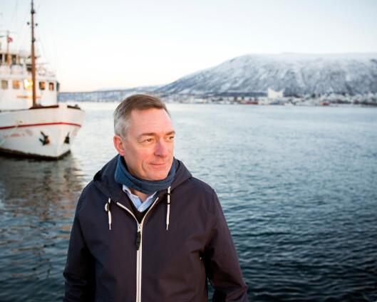 Forsvarsminister Frank Bakke-Jensen blir Fiskeridirektør