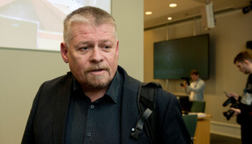 Lars Erik Jamtli, hovedtillitsvalgt i Luftforsvaret.